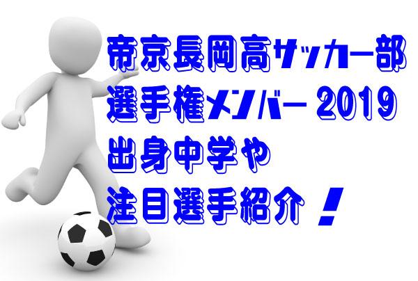 部 帝京 メンバー サッカー 長岡 【選手・進路】帝京長岡サッカー部メンバー(全国高校選手権2020